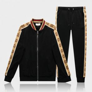gucci tracksuit mens cheap gold gg noir