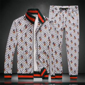 gucci tracksuit mens cheap gris mickey mouse,Tracksuit gucci dhgate