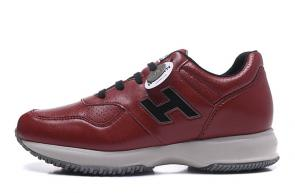 hogan shoes 2018 2019 classic luxury fashion interactive series trend men in sports shoes red