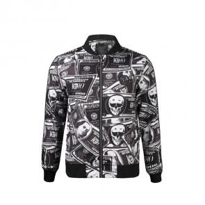 homme philipp plein bomber jacket new dollar