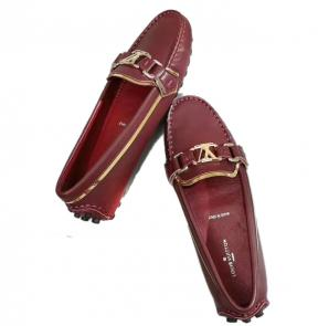 louis vuitton femme chaussure 2020 casual flat red wine