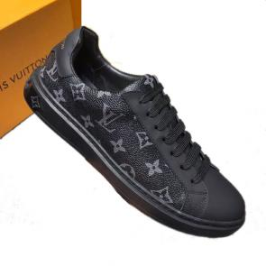 louis vuitton fr chaussures low top 210509 lv monogram noir