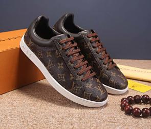 louis vuitton fr chaussures low top lv072077250 brown