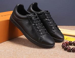 louis vuitton fr chaussures low top cool leather black