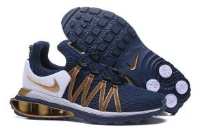 hommes nike shox gravity casual chaussures metallic gold