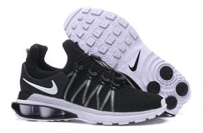 man nike shox gravity casual shoes black 4zoom