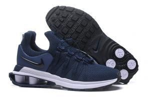 hommes nike shox gravity casual chaussures blue line