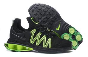 hommes nike shox gravity casual chaussures dark green