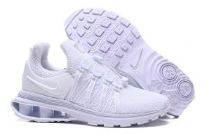 hommes nike shox gravity casual chaussures snow white