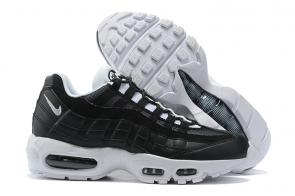 man basket nike air max 95 premium black white