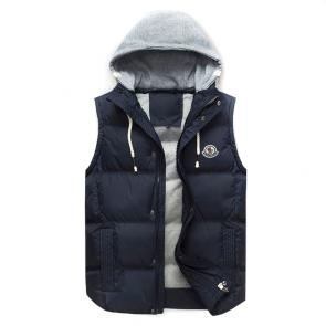 moncler down jacket without sleeves mc10228 hoodie a cap