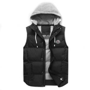 moncler down jacket without sleeves mc10228 hoodie hommes