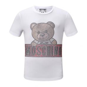 moschino t-shirt colourful moschino logo toy bear underwear
