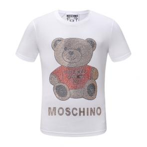 moschino t-shirt colourful classi gold teddy bear