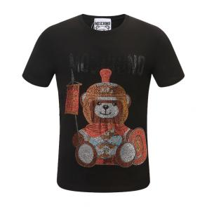 moschino t-shirt colourful jersey teddy bear