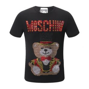 moschino t-shirt colourful magician teddy bear jeans