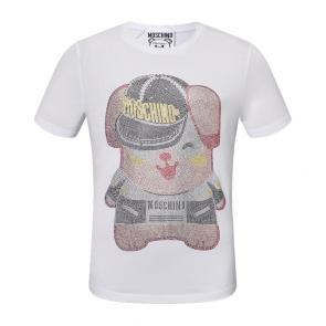 moschino t-shirt colourful pig lady mode discount