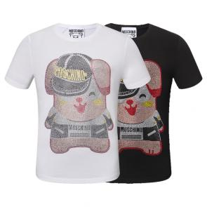 moschino t-shirt colourful pig lady mode---
