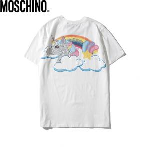 moschino t-shirt colourful pony