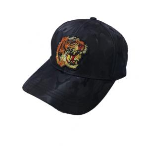 new gucci cap discount embroidery tiger army black
