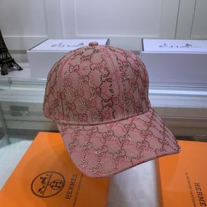 new gucci cap discount g6146 crystal gg   pink