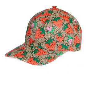 new gucci cap discount gg fraise  print strawberry