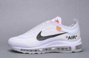 new nike off white 97 man buy aj4585-100 noir blanc