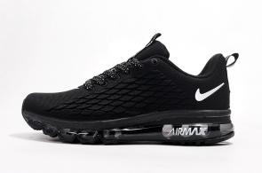 nike air max 2017 flyknit  man women vapormax black white fish scale