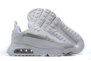 nike air max 2090 fille homme promo gray white