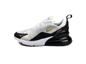 nike air max 270 flyknit homme brown logo white black