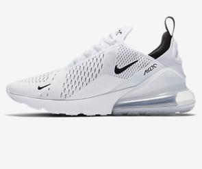 nike air max 270 flyknit trainers cool white