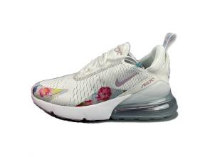 nike air max 270 flyknit women 2019 size 36-39 flower white