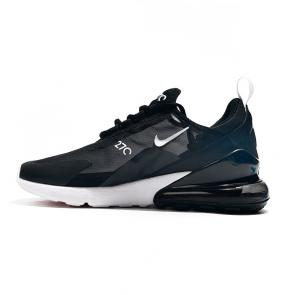 nike air max 270 flyknit women man 2019 black white