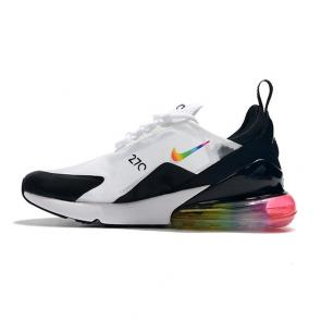 nike air max 270 flyknit women man 2019 rainbow logo