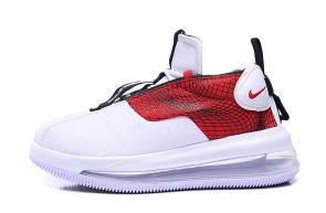 nike air max 720 3 gs running shoes white red