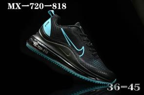nike air max 720 818 discount blue black