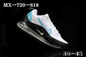 nike air max 720 818 discount white blue