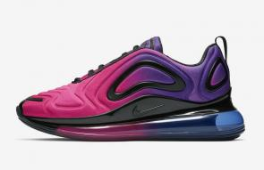 nike air max 720 femme new sneakers rose noir