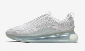 nike air max 720 new  sneakers blanche