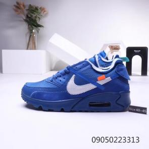 nike air max 90 essential limited edition off white big nike blue
