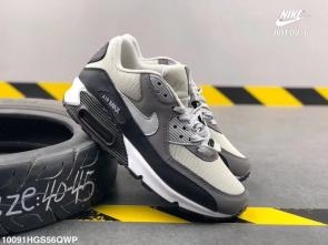 nike air max 90 essential limited edition two leather  gray 002