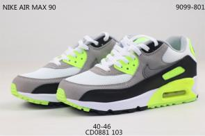nike air max 90 essential man limited edition cd881 103 gray vert-2