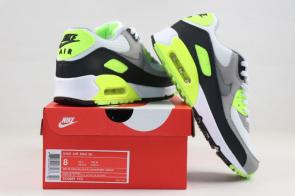 nike air max 90 essential man limited edition cd881 103 gray vert-4
