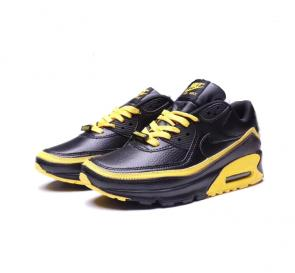 nike air max 90 flyknit 2.0 sneakers gold black