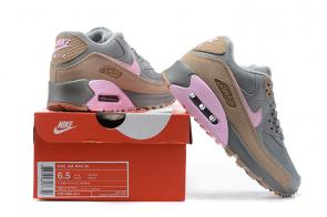 nike air max 90 leather femme rose brown,air max 90 soldes france