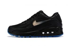 nike air max 90 prm curry  women black gold crystal women man