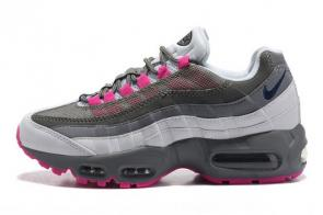nike air max 95 femme multicolor gris-rose