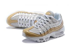 nike air max 95 femme multicolor gold white