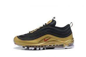 nike air max 97 boys undefeated metal black gold