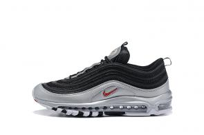 nike air max 97 boys undefeated metal black silver